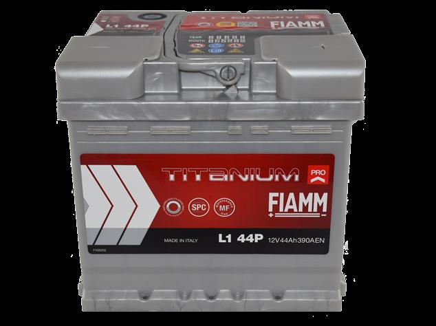 akumulator, 12v. 44ah, 390a, desno, fiamm, titanium, pro, fi