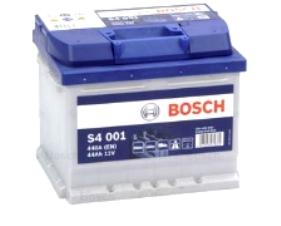 AKUMULATOR 12V-44AH-420A DESNO+ BOSCH S4, S4001, 0092S40010
