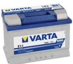 AKUMULATOR 12V-72AH-680A D+ BLUE DINAMIC NIŽI 572409068, E43