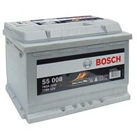 AKUMULATOR, 12V-77AH-780A, DESNO+, BOSCH S5, S5008, 0092S50080,