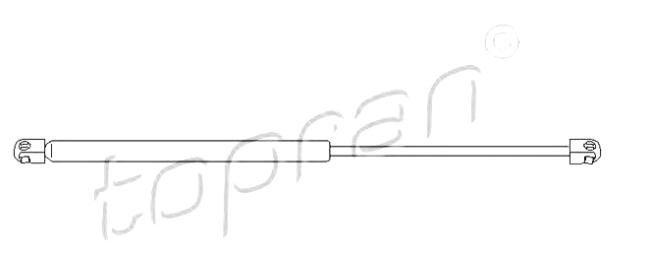 AMORTIZER GEPEKA ASTRA H TOPRAN, 0132743, 207180586