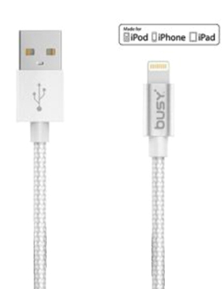 BUSY MFI USB PVC CABLE 1.8m 50693