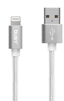 BUSY (Non-MFI) USB PVC Cable 2.0m 50698