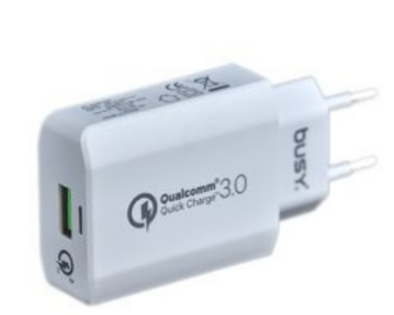 BUSY USB HOME CHARGER QC 3.0 60800