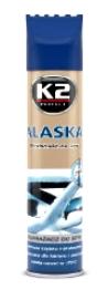 K2 ALASKA SPREJ ZA ODMRZAVANJE ŠOFERŠAJBNE 300ml K603