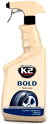 K2 BOLD SJAJ ZA AUTO GUME 700ml, K157