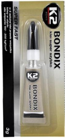 K2 BONDIX SUPER LEPAK 3grama, B1001