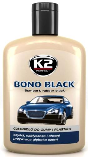 K2 BONO BLACK SJAJ PLASTIKA, K207, K030
