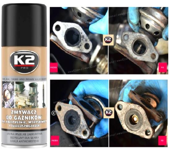 K2 KARBURATOR SPREJ 400 ml, W128