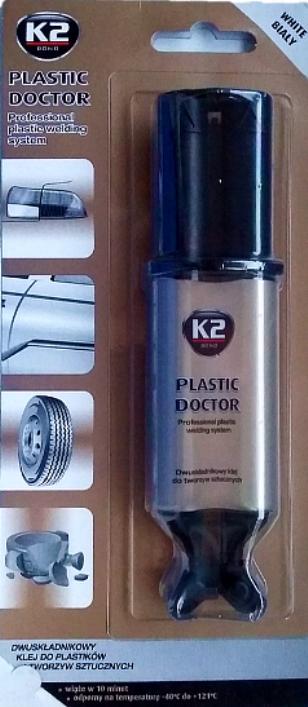 K2 PLASTIC DOCTOR DVOKOMPONENTNI LEPAK 28g CRNI B103,